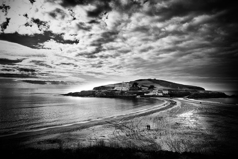 Burgh Island wedding photography - The island and hotel.