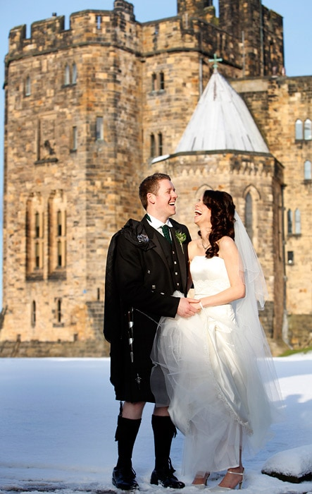 weddings at Alnwick castle