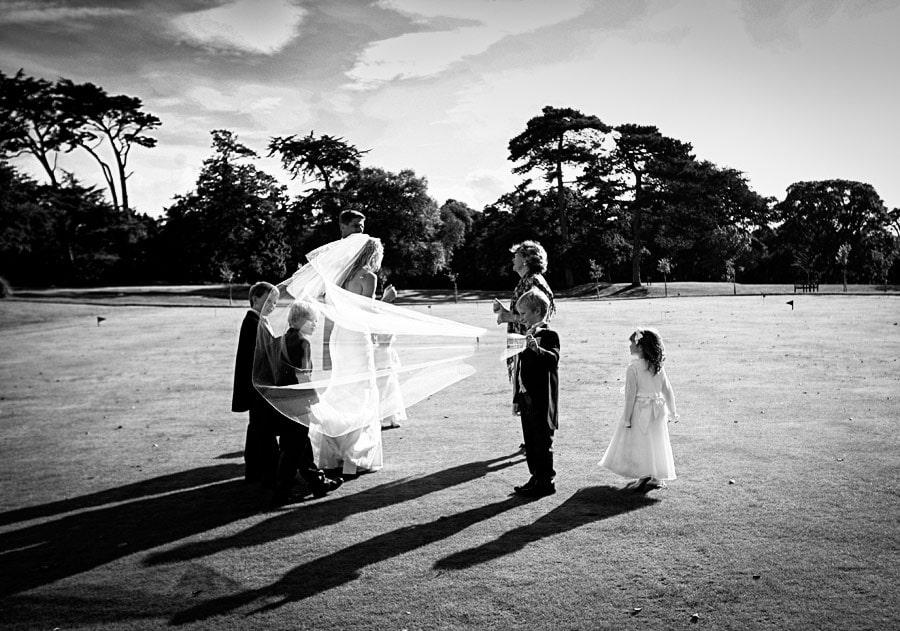 wedding at Chewton Glen