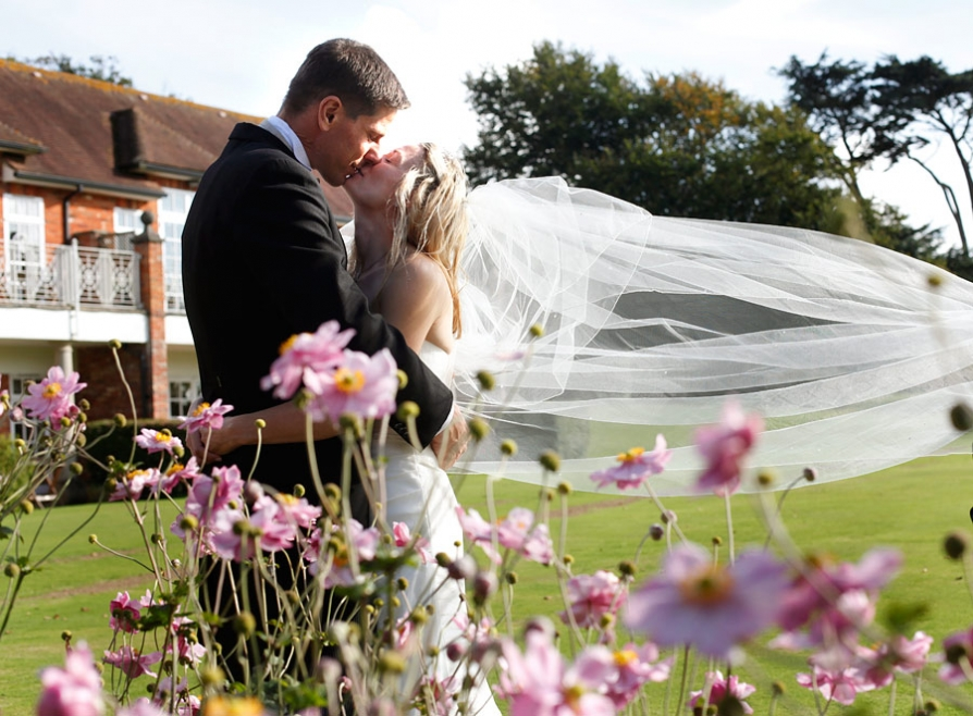 Chewton Glen wedding photographer