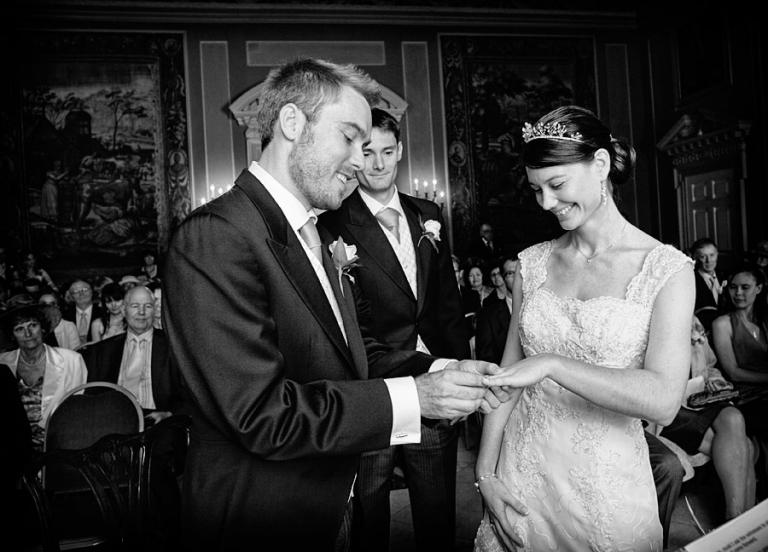 Clandon Park wedding