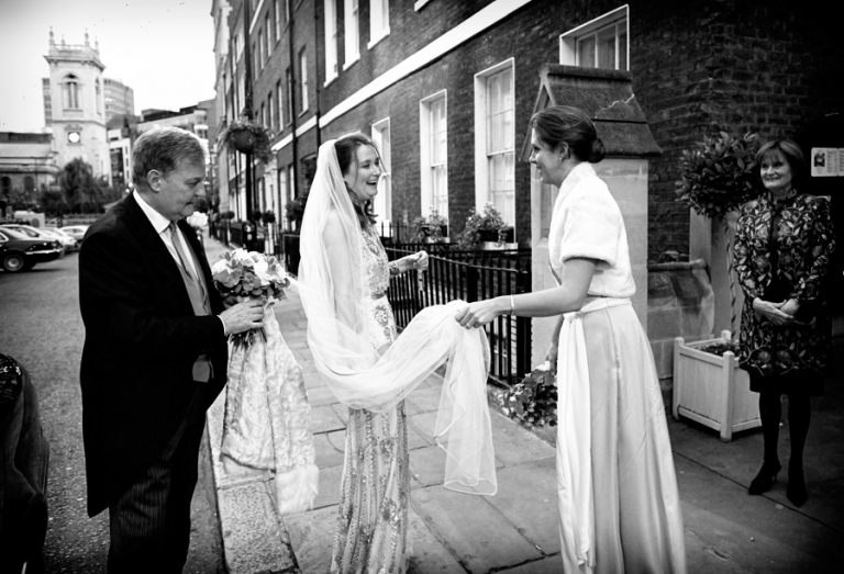 St Etheldreda's church wedding