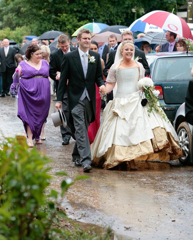 Wet Wedding Dresses