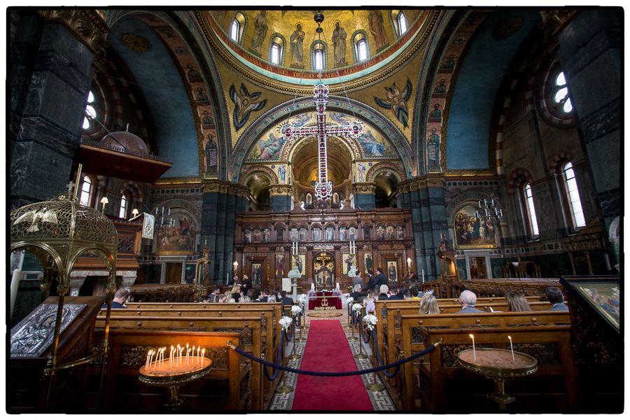 Saint Sophia Cathedral Wedding In London Reception At Kew