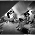 Hampton court house wedding photography by Simon Atkins