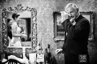 award winning wedding photograph from the fearess photographers awards