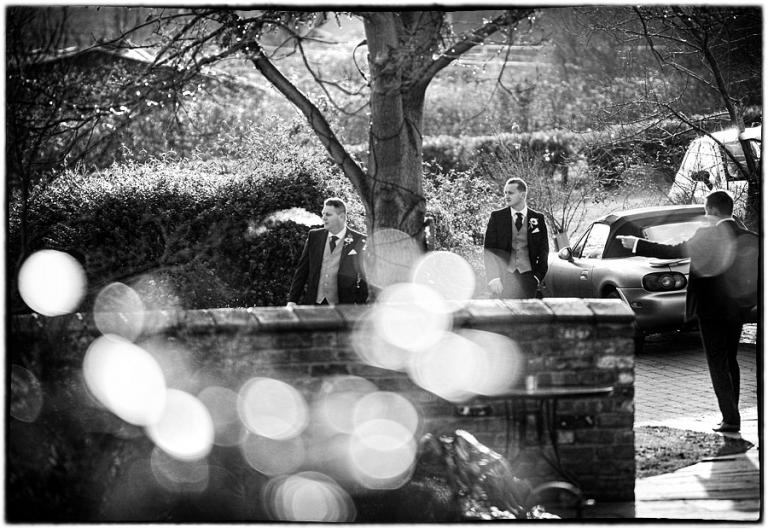 dodmoor house wedding photography, groom arriving