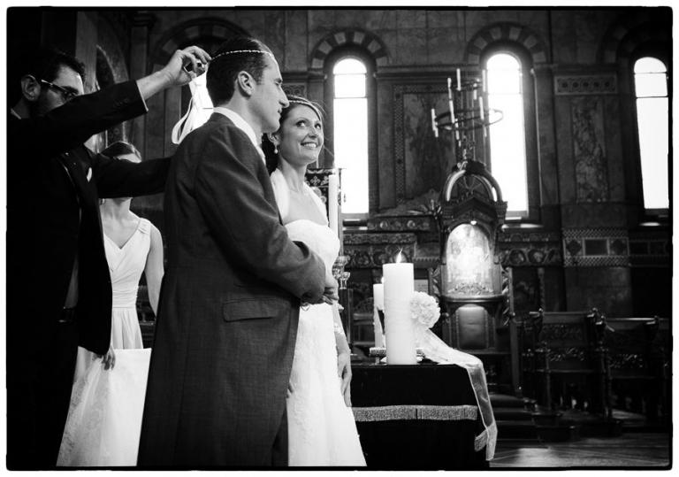 Saint Sophia Cathedral, Greek wedding in Bayswater, London.