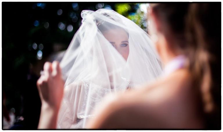 beautiful veil photograph