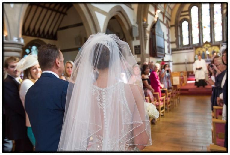 brides arrival